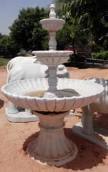 Marble Garden Fountain