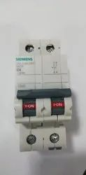 Siemens Two Pole Miniature Circuit Breaker
