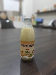 Glass Turmeric Milk, For 3 Months, Capacity: 200 Ml