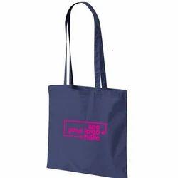 Blue Colored Cotton Bag