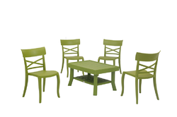 Tea Table And Chair Set