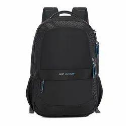 Nylon And Ployster Laptop Backpack Droid Plus Black Shoulder Backpack, Size: 47*33*17 Cm