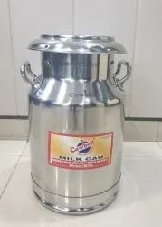 Stainless Steel Milk Can 20 Litre AISI 304 Grade