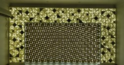 Backlit Corian Wall Panel