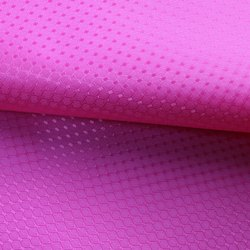 Diamond Rhombus FDY Coated Polyester  Fabric for School Bags