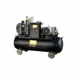 RA-7T 32 CFM Tank Mounted Screw Air Compressor