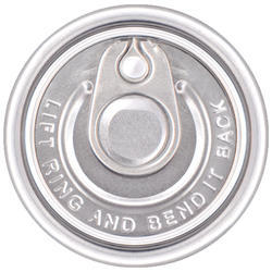 52 mm Aluminum Easy Open End