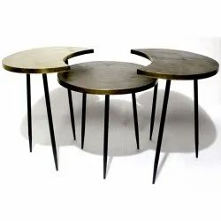 VIAF-1014 Hot Selling Top Quality Material Iron & Aluminum Nested Tables