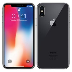 Gray Iphone X Space Grey Mobile