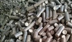 Uthaya Saw Dust Briquettes, Thickness: 60 mm To 100 mm