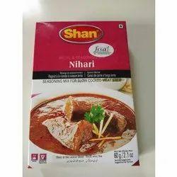 Shan Nihari Masala, Packaging Size: 50 g, Packaging Type: Box