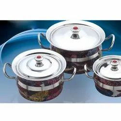 Printed Colour Toshiba Serving Bowl Set