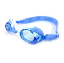 Pink , Blue Professional Safety Anti Fog Swimming Goggles Coating Kids Swim Glasses