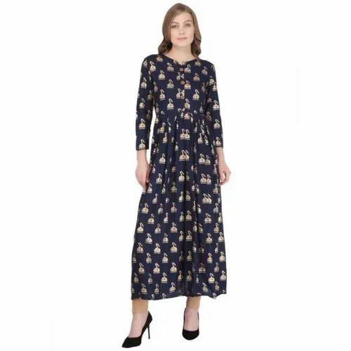 Woman Non-Stretchable Party Wear Kurti