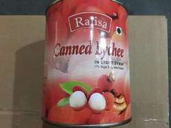 Ralisa Lychee In Light Syrup 2.7kg, Packaging Size: 2.7 Kg, Packaging Type: Can