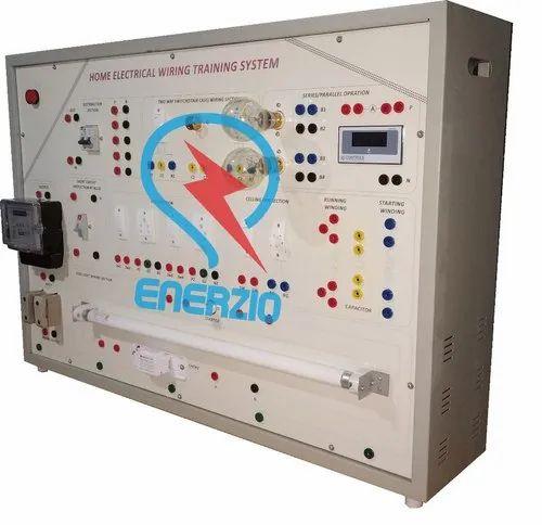 Enerzio Mild Steel Electrical Home Wiring Training System ... on