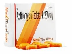Maxithral Azithromycin Tablets 250 mg