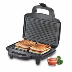 Stainless Steel Sandwich Maker Machine, Number Of Slices: 2