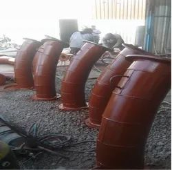 Industrial Ceramics Lined Pipes
