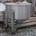 SS Storage Tank with Cone End