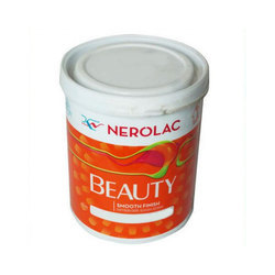 High Gloss Nerolac Interior Beauty Wall Paint, Packaging Type: Bucket