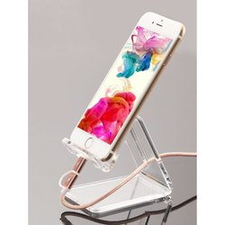 transfarant Acrylic Mobile Stand, Size: Medium