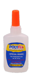 Polyfix Glue to Paste Logos on Leather Bag, Suitcase