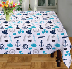 Ship Table Cloth