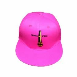 Freedom of Speech Pink Hip Hop Cap
