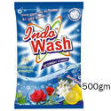 Indo Wash 500gm Detergent Powder, For Laundry, Packaging Type: Packet