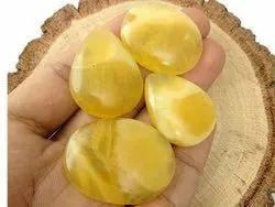 Yellow Serpentine Cabochon Gemstone