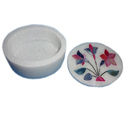 Decorative Marble Inlay Jewellery Box