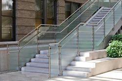 SS Glass Design Railing