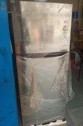 Electricity Auto LG Refrigerator, Door Types: Double