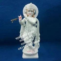 Lord Marble Krishna Statue