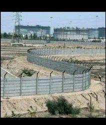 Construction Area Boundary Walls