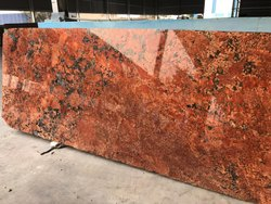 SGM Alaska  Red Granite Slab