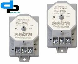Setra Model 265 Differential Pressure Transducer Range 0- 250 Pac