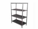 4 Shelves SS Pot Rack