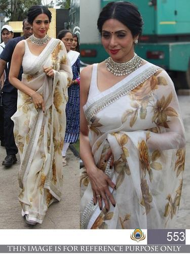 8d718d032b Georgette Bollywood Replica Fancy Saree, Rs 700 /piece, Jau Fashion ...