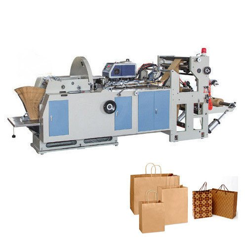 Semi Automatic Paper Bag Making Machine