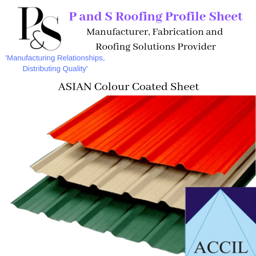 Asian Colour Coated Sheets At Rs 57 Kilogram À¤œà¤¸ À¤¤ À¤° À¤— À¤² À¤ª À¤¤ À¤¶ À¤Ÿ P And S Roofing Profile Sheet Badlapur Id 20552130855