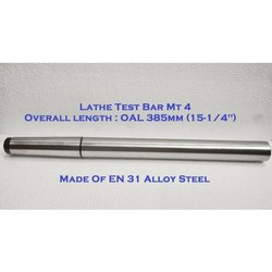 4MT Lathe Alignment Test Bar MT4 EN31 Alloy Steel