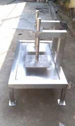 JMD India Manual Dube Head Panner Pressing Machine