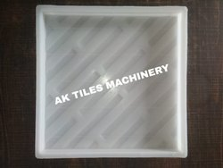 Chequered Silicone Plastic Tiles Mould