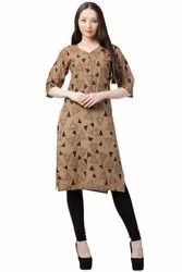 VFLK-41C- Daily Wear Printed Kurti in Jaipuri Print