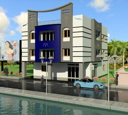 Small Building Elevation Design Service in Kolkata