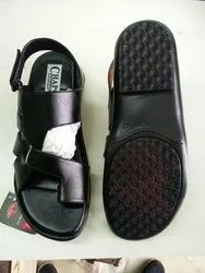 black brown Mens Casual Sandals, Size: 6x10