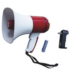 15W DC 3.7V 15 W Pa Megaphone Hand Held Type With Rechargeable Battery