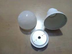 Green Pulse Aluminium LED Bulb Housing 57mm (Philips Type), Shape: Round
